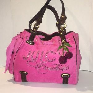 Juicy Couture pink large bag